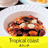 Dining cafeTropical coast